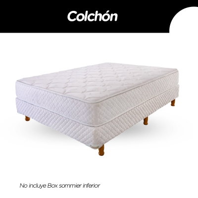 Colchon Cannon Princess 140x190x23cm Espuma Alta Densidad