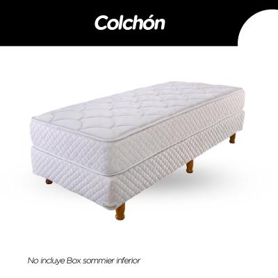 Colchon Cannon Princess 080x190x23cm Espuma Alta Densidad