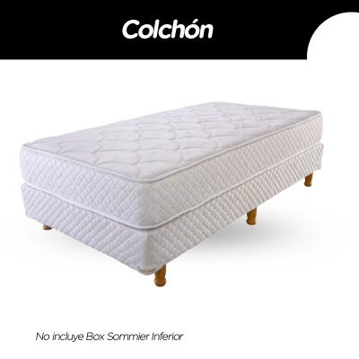 Colchon Cannon Princess 100x190x23cm Espuma Alta Densidad