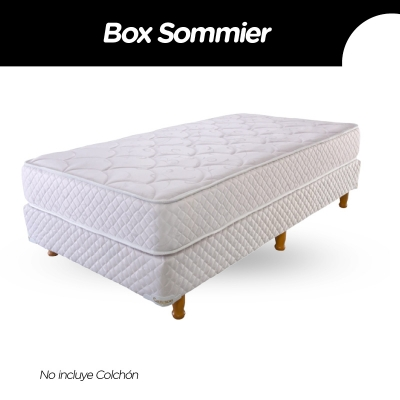 Box Sommier Cannon Princess 100x190x21 (sin Colchon)