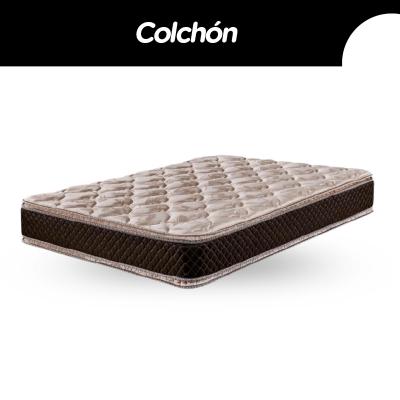 Colchon Cannon Exclusive 140x190x29cm Pillow Top Espuma Alta Densidad