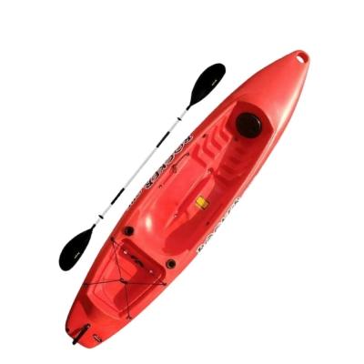 Kayak Rocker One 290x067 Guantera En Proa/posa CaÑa + Remo Pala Doble
