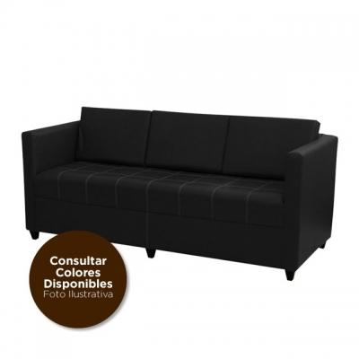 Sofa Living Color Ivor C/banqueta 3cpos G2