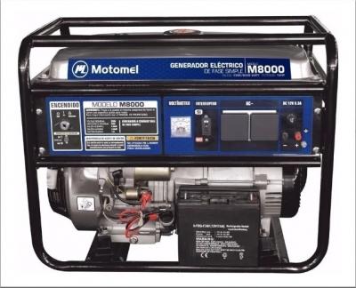Grupo Elec Motomel Portatil M8000e 4kw 6000w Arranque Electrico