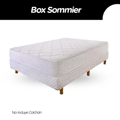 Box Sommier Cannon Princess 140x190x23 (sin Colchon)