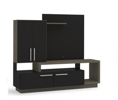 Modular Kappesberg S965 195x170x53 2pta/2caj Italia/negro