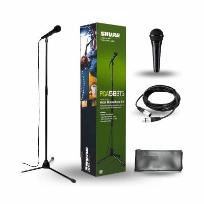 Soporte Microf Shure Pga58bts Pack Sop Boom C/microfono P/voces/c Interruptor/c/cable Xlr