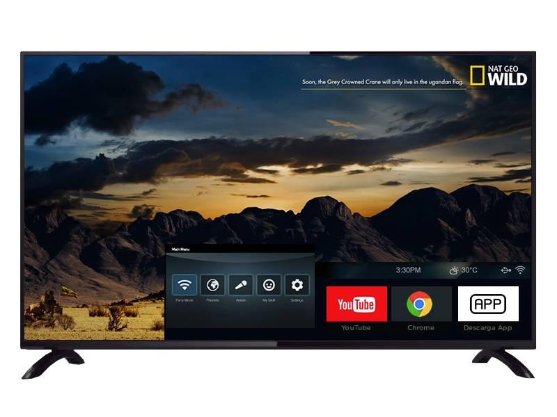 Smart Tv 4k  Panoramic 55