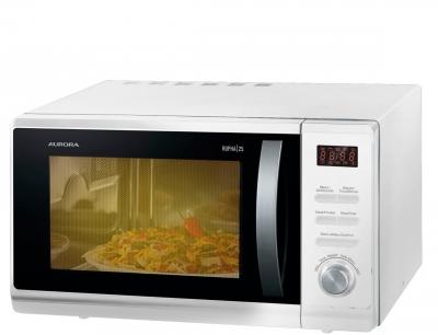 Microonda Aurora Rupha 25 Digital Con Grill 1000w/25lts/blanco/8 Potencias