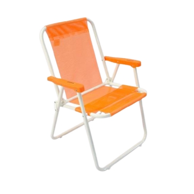 Reposera Descansar Sillon  Plegable 7/8 C/posabr/ Plastico Art40002