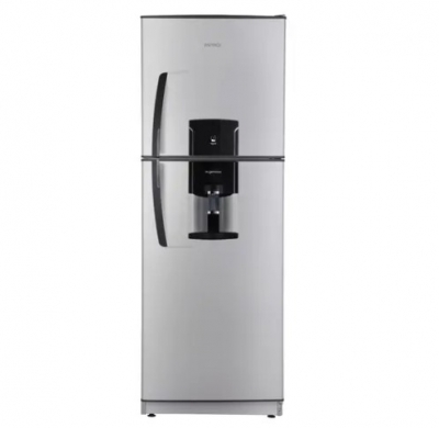 Heladera Patrick Hpk 151m 393lts 2frios C/freezer Con Dispenser Silver