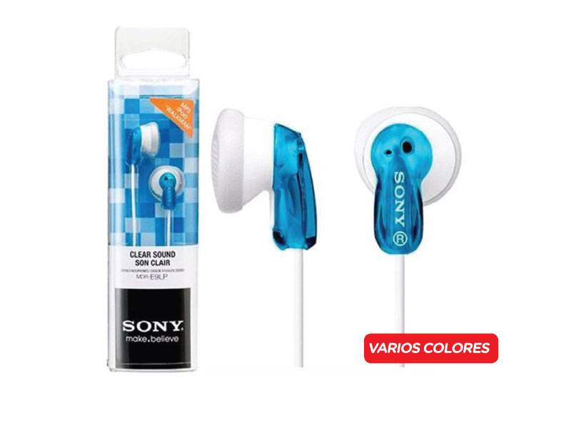 Auricular Sony Mdr-e9lp In Ear/cable 1.2m/unid
