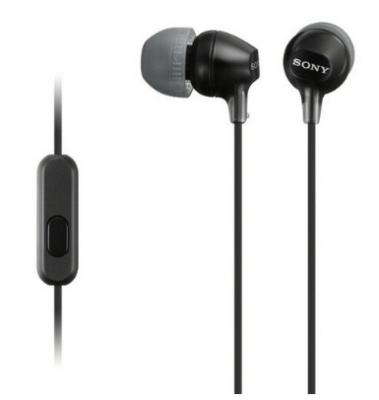 Auricular Sony Mdr-ex15lp In Ear/cable 1.2m/unid De Diafrag 9 Mm/freq 8-22,000hz