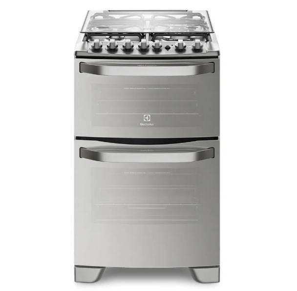 Cocina Electrolux 56dax Doble Horno/4h/grill/espejada Inox