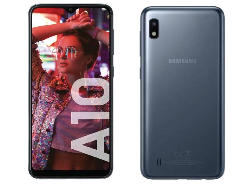 Celular Samsung Sm-a105gzklar Galaxy A10 Negro Libre Vis (sasma105mzkar)