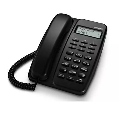 Telefono Philips Crd150b/77 Con Cable/pant 6.6cm/id Llamadas/manos Libres