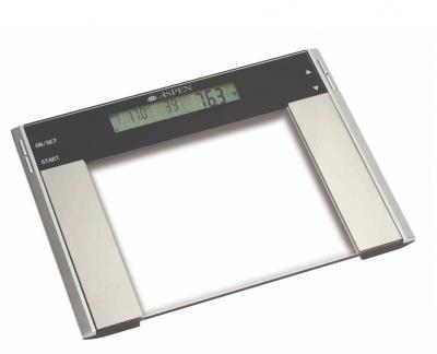 Balanza BaÑo Aspen Ef 922  Digital Vidrio 200kg