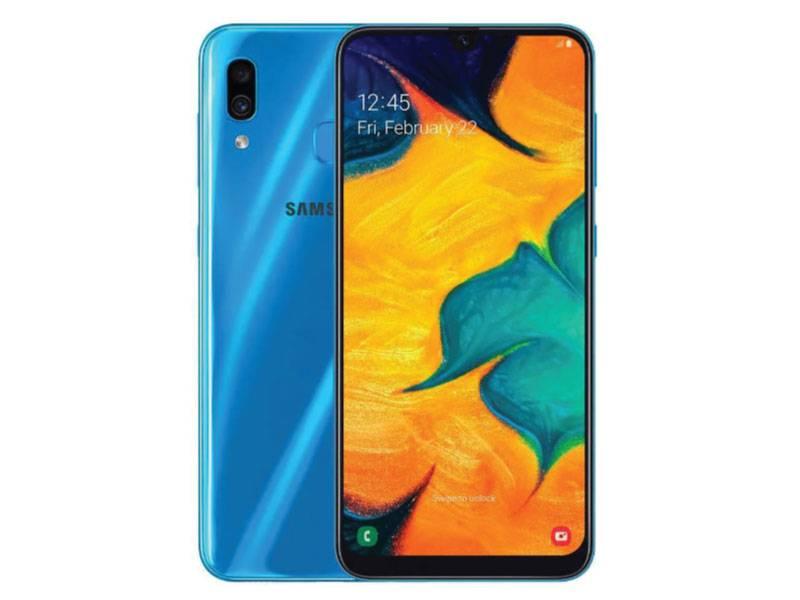Celular Samsung Sm-a305gzbar Galaxy A30 Blue Libre