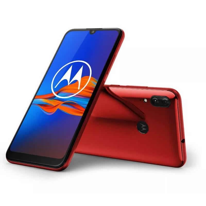 Celular Motorola Moto E6 Plus / Xt2025-1 (poker2+32) Cherry Red Libre Nsan
