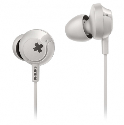 Auricular Philips She4305wt/00 In Ear Linea Bass+ /microfono