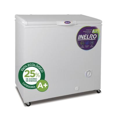 Freezer Inelro Mod. Fih -270 Color Blanco 215 Litros