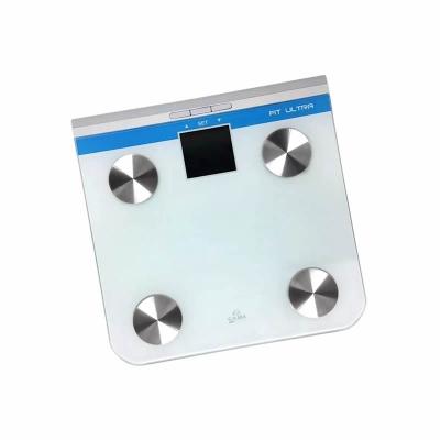 Balanza BaÑo Gama Fit Ultra Gbfitu Digital/150kgs/indica M.osea/m. Musc/grasa Corp Cod:30623