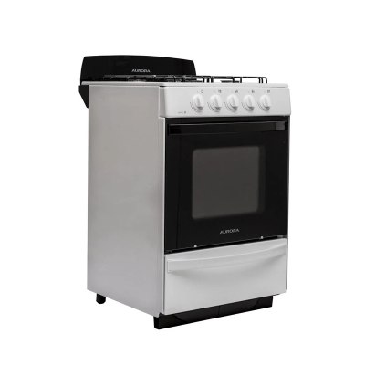 Cocina Aurora Argenta Le.4 Luz Horno/encendido Electrico/ C/valvula