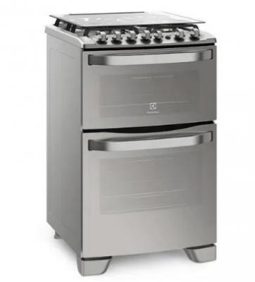Cocina Electrolux 56dxq Doble Horno Elec-gas/grill/espejada Inox