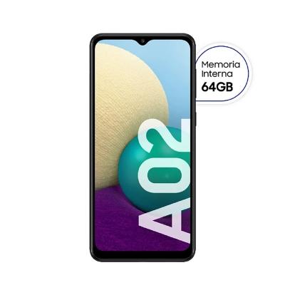 Celular Samsung Sm-a022mzkyaro Galaxy A02 Negro Libre Mul (64/3gb)