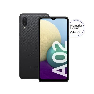Celular Samsung Sm-a022mzky Galaxy A02 Negro 64gb Libre Vis (sasma022mzkyar)