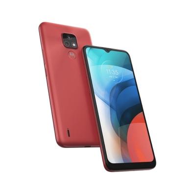 Celular Motorola Moto E7 Xt2095-1 (malta 2+32) Water Red Libre 91palv0041ar Nsan