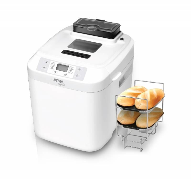 Horno P/pan Atma Hp4060e C/accesorios Para Baguette/disp Nueces/frutas/900g