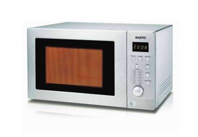Microonda Sanyo Emgx2814 28 Lts Digital Con Grill Acero Inox