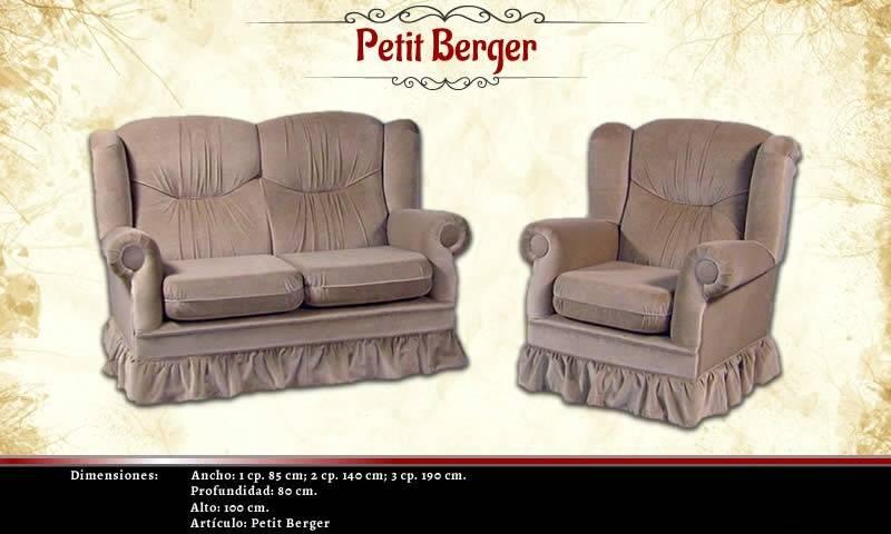 Juego Centro Living  Berger Petit 2.1.1. Chenille