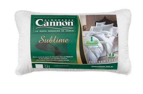 Almohada Cannon 070x040 Sublime