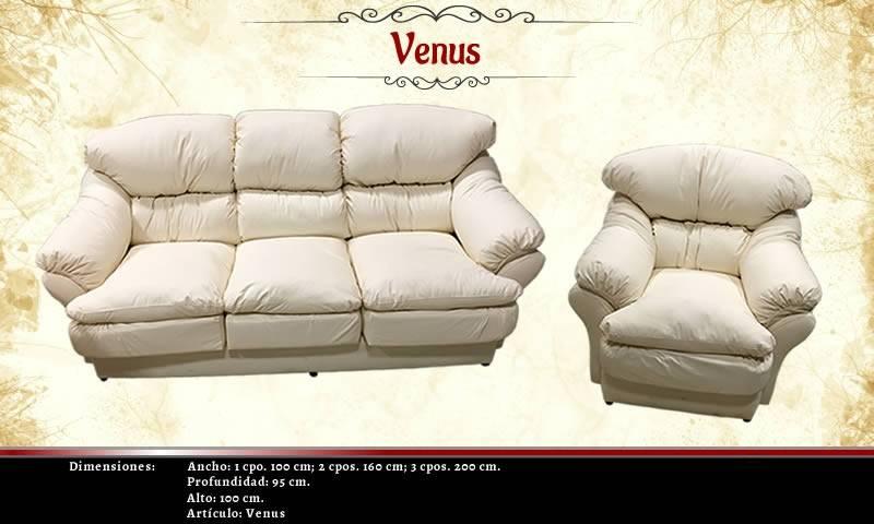 Juego Centro Living Venus 2.1.1 Ecocuero