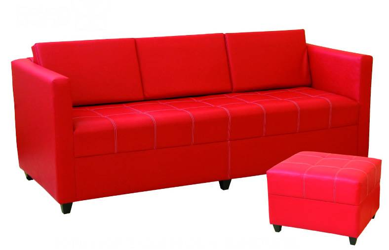 Sofa Living Color Ivor C/banqueta 3cpos G2