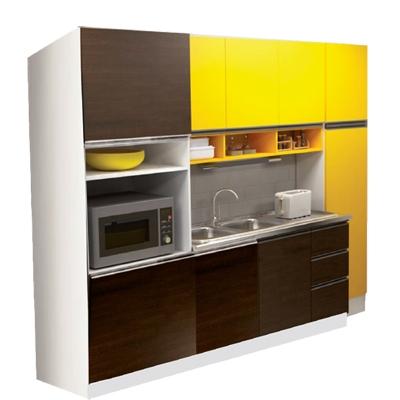 Conjunto Cocina Dielfe 140 2ptas/3caj/3div/desp 2p