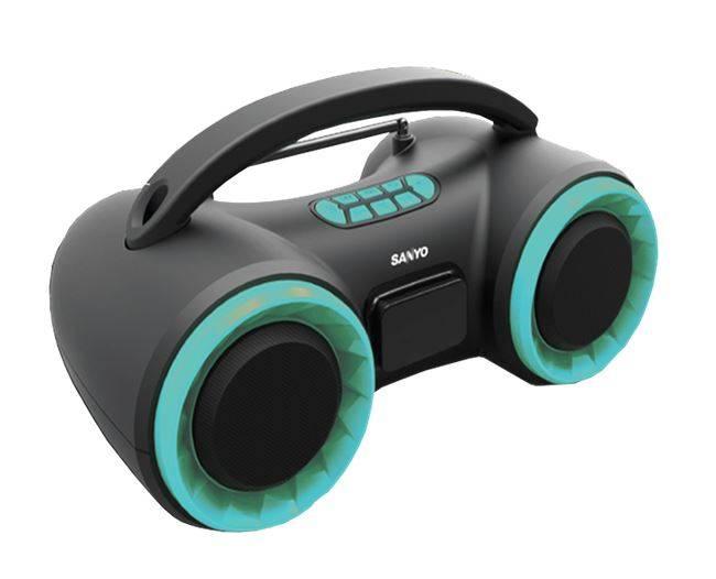 Parlante Portatil Sanyo Bth16 Bluetooth/am/fm/estereo