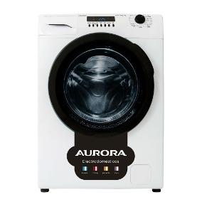 Lavarropas Automatico 7kg 1000rpm Aurora C/frontal 6406 Blanco