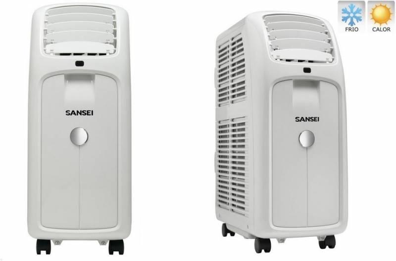 Aire Acondicionado Sansei Sap32h18n Portatil 3,5 Kw Frio/calor