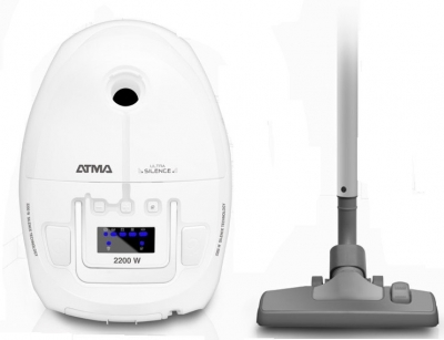 Aspiradora Atma A8961e 2200w Ultra Silenciosa C/bolsa 2.5l